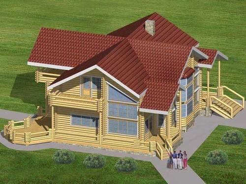 Проекты реконструкции жилых домов: пристройки к дому, хозяйственные постройки на земельном участке
